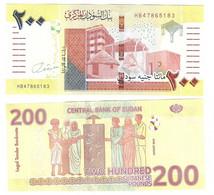 Sudan North - 200 Pounds 2020 XF Lemberg-Zp - Soudan