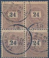 O 1899 24kr Négyes Tömb III. Vízjel! Talán A Legritkább összefüggés A Krajcárosok Között RRRR! (150.000+) - Non Classificati