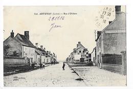 ARTENAY  (cpa 45)  Rue D'Orléans     -  L 1 - Artenay