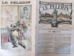 LE PELERIN 1076. 15 AOUT 1897. MANOUEVRES ALPINES ALPES MAURIENNE. ILES GLENAN Archipel Des Glénan Glénan Islands - 1850 - 1899