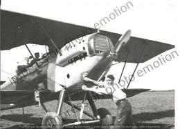 PHOTO AVION  A IDENTIFIER      17X12CM - Aviación