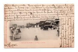 (33) 637, Soulac Sur Mer, Grand Bazar Parisien 6, La Plage, Le Matin, Dos Non Divisé, état - Soulac-sur-Mer