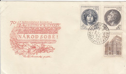 CZECHOSLOVAKIA FDC 833-835 - FDC