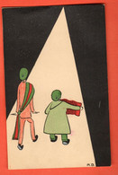 CHE-04 Carte De Société D'Etudiants, Belles-lettres ? Zofingiens ? Illustrateur. Circ. Sous Enveloppe 1925. Vaney-Bur - VD Vaud