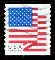 Etats-Unis / United States (Scott No.5260 - FLAG) (o) Coil - Used Stamps