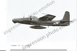 PHOTO AVION      GRUMMAN F7F #4 TIGERCAT   RETIRAGE REPRINT - Aviación