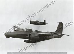 PHOTO AVION      GRUMMAN F7F #5 TIGERCAT  RETIRAGE REPRINT - Aviación