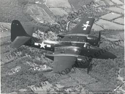 PHOTO AVION    GRUMMAN F7F 2 TIGERCAT  RETIRAGE REPRINT - Aviación