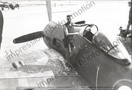 PHOTO AVION       Grumman F8F Bearcat Français En Indochine     RETIRAGE REPRINT - Aviación