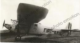 PHOTO AVION    AVION FIAT BRG    RETIRAGE REPRINT - Aviación