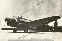 PHOTO AVION     FIAT BR 20M   RETIRAGE REPRINT - Aviación