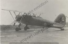 PHOTO AVION       Fiat CR.42 Aeronautique Militaire Belge  RETIRAGE REPRINT - Aviación
