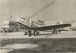PHOTO AVION     FIAT G 18 V   RETIRAGE REPRINT - Aviación