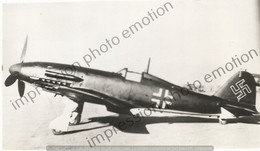 PHOTO AVION  FIAT G 56 COULEUR ALLEMANDE   RETIRAGE REPRINT - Aviación