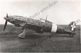 PHOTO AVION    Fiat G.55 Centauro Regia Aeronautica  OU Macchi 205 Figther  RETIRAGE REPRINT - Aviation