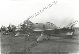 PHOTO AVION     Fiat G-50  RETIRAGE REPRINT - Aviación