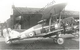 PHOTO AVION    Gloster Gamecock I RAF J-8092-  RETIRAGE REPRINT - Aviación