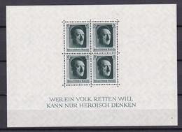 Deutsches Reich - 1937 - Michel Nr. Block 7 - Ungebr. - Ongebruikt