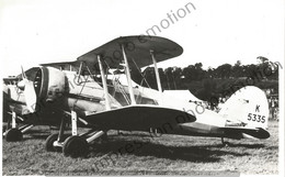 PHOTO AVION       Gloster Gauntlet II RAF  RETIRAGE REPRINT - Aviación