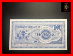 MACEDONIA 1000  1.000 Denari  1992  P. 6  UNC - Macedonië