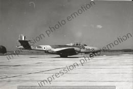 PHOTO AVION     GLOSTER METEOR NF11-38 346-QK  RETIRAGE REPRINT - Aviazione