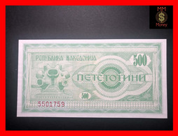 MACEDONIA 500 Denari 1992  P. 5  UNC - Macedonië