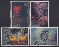 F-EX20108 JAMAICA MNH 1981 SEA MARINE LIFE SPONGE CRAB ESPONJAS CANGREJOS - Marine Life