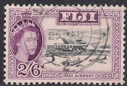 Fiji 1959 - 63 QE2 2/-6d Nadi Airport Used SG 307 ( B1188 ) - Fiji (...-1970)