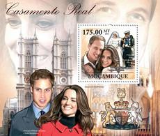Mozambique 2011 Royal Weddings, Prince William & Kate Middleton - Sao Tome En Principe