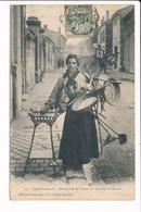 Carte Types Bordelais ( BORDEAUX  ) Marchande De Paniers Du Quartier Saint Nicolas ( éditeur Gorce à Talence ) - Bordeaux