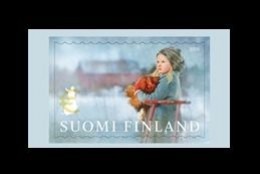 Finland 2020 Mih. 2729 Sled Ride. Children And Animals. Girl With A Rooster MNH ** - Unused Stamps