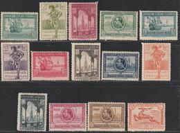1929. * Edifil: 434/47. PRO EXPOSICIONES SEVILLA Y BARCELONA - Ungebraucht