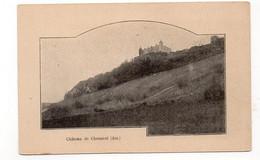 01 - (JUJURIEUX) Château De CHENAVEL  (X78) - Otros Municipios