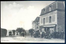 Cpa Du 35 St Lunaire Café Restaurant De La Plage -  Ferret Josselin    NOV20-12 - Saint-Lunaire