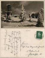 .Baden-Württemberg Hornisgrinde (Berg, Turm, Verschneiter Schwarzwald 1930 - Achern