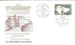 FDC 1972  LUXEMBURG  LION - Felini