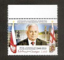 GEORGIA / GEORGIEN 2020●President Of Poland Lech Kaczynski MNH - Georgië