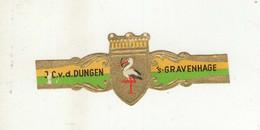 BAGUES DE CIGARES  1 EX.   J. C. V. D. DUNGEN  GRAVENHAGE - Bauchbinden (Zigarrenringe)