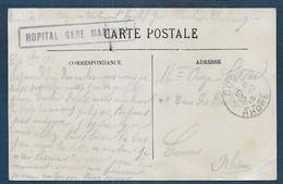 Manche  -  Cherbourg  HOPITAL GARE MARITIME - Guerra Del 1914-18