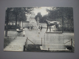 BRUXELLES 1913 - PARC DU CINQUENTENAIRE - LE CHIEN VERT - N° 271 - Sin Clasificación