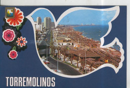 Postal 010088: Malaga, Torremolinos, Playa Y Paseo Maritimo - Non Classificati