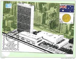 2006 - 69 - 1013 - Drapeaux Et Monnaies, Australie - FDC