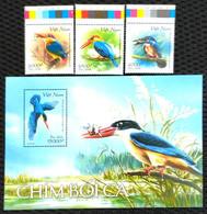 Vietnam Viet Nam MNH Perf Stamps & Souvenir Sheet Issued On 14th Of Nov 2020 : Kingfisher Bird / Birds / Fish (Ms1135) - Vietnam