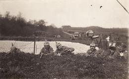 CP Photo Avril 1915 NORROY-LE-SEC (près Briey) - 29ème IR All., Mise En Scène à La Ferme De La Serpe (A113, Ww1, Wk 1) - War 1914-18