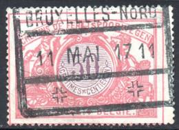 YT 34 OBLITERE BRUXELLES 1917 - 1895-1913