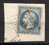 FRANCE ( OBLITERATION LOSANGE )  PC  886 ?  Clermont-Ferrand  Puy-de-Dôme  COTE  1.00 , A  SAISIR . TIR - 1849-1876: Période Classique