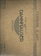 Verrerie D'art Livre De 12 Pages  Luneville  Paris - Interieurdecoratie