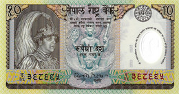 NEPAL 2002 10 Rupee - P.45 Neuf UNC - Nepal