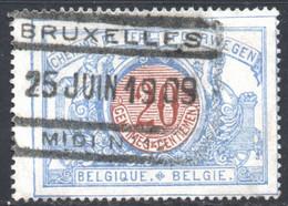 YT 30 OBLITERE BRUXELLES 1909 - 1895-1913