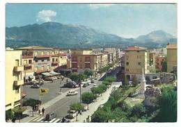 7750 - CASSINO FROSINONE PIAZZA DIAZ E CORSO DELLA REPUBBLICA 1971 - Andere Steden